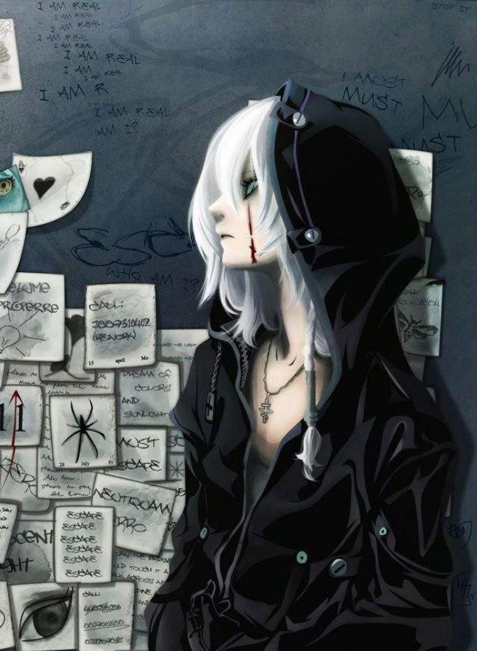 Ảnh 7: Một cô gái với bộ trang phục ưu tiên tông màu đen tối luôn tạo giác thần bí, cực ngầu