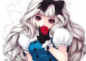 Tổng hợp các hình nền anime girl cá tính lạnh lùng