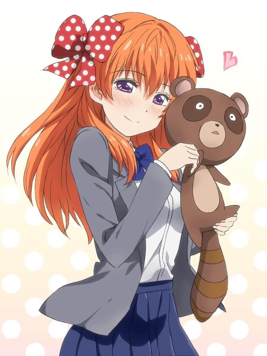 Anime girl tóc cam