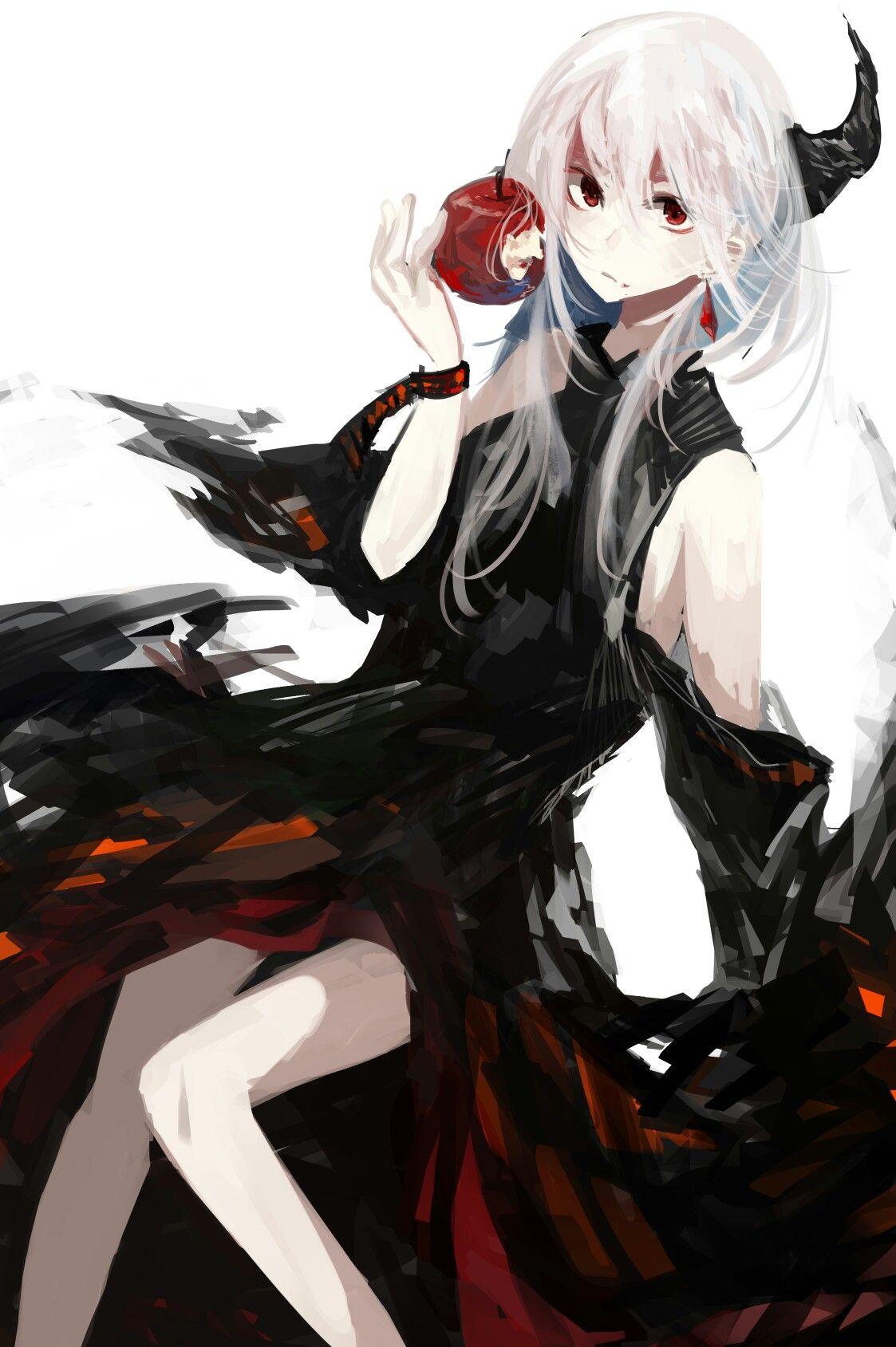 Anime tóc trắng bí ẩn