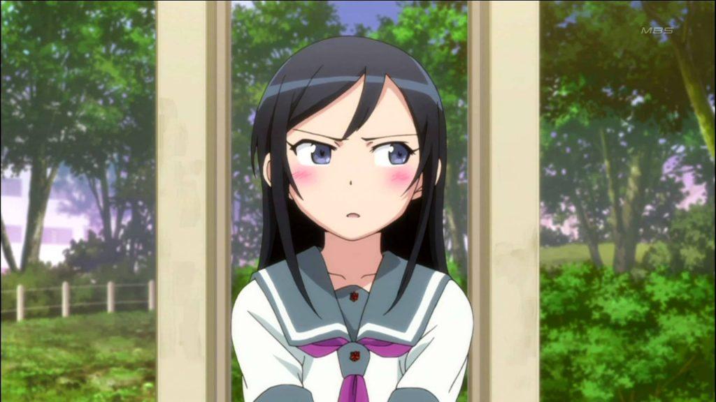 Anime nữ sinh trung học tóc đen Aragaki Ayase