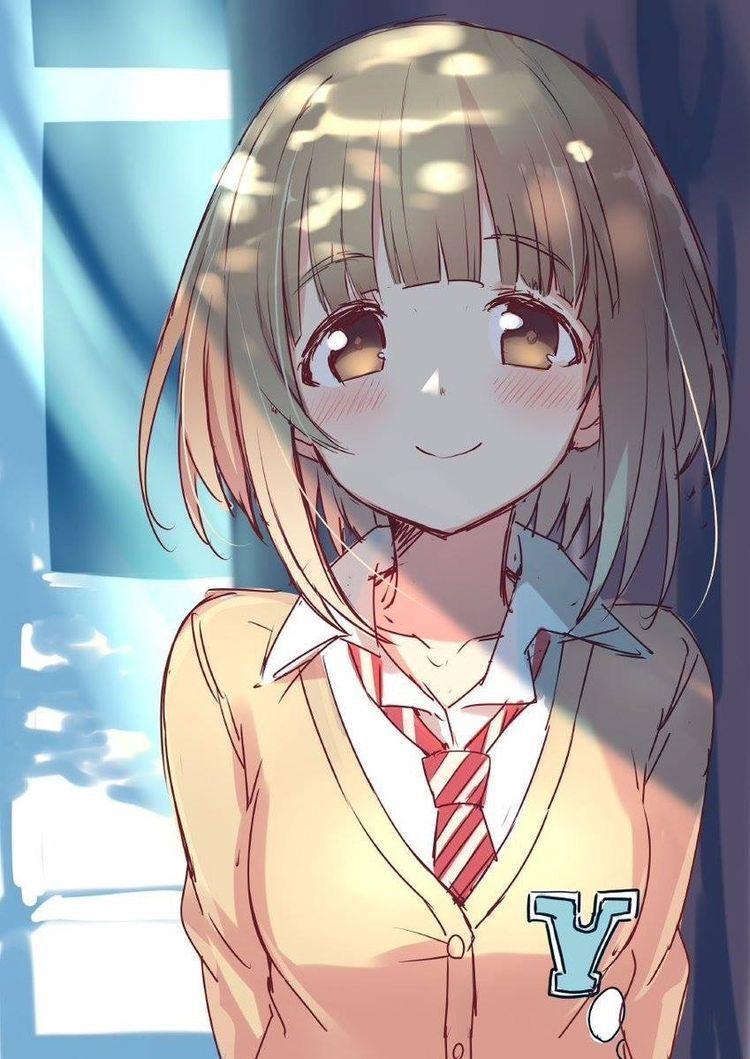 Anime nữ tóc ngắn trung học