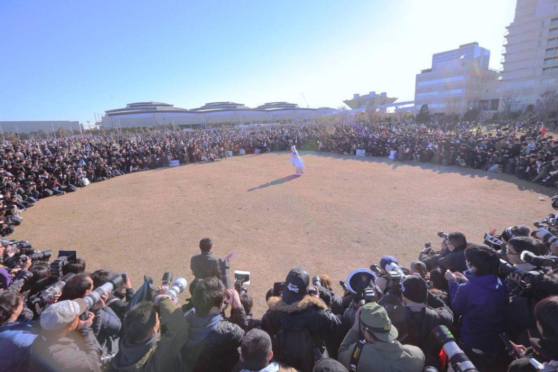 Dvp3DeYUYAEr1zf Sức hút siêu khủng khiếp của Enako Coser nổi tiếng nhất Nhật Bản hiện nay