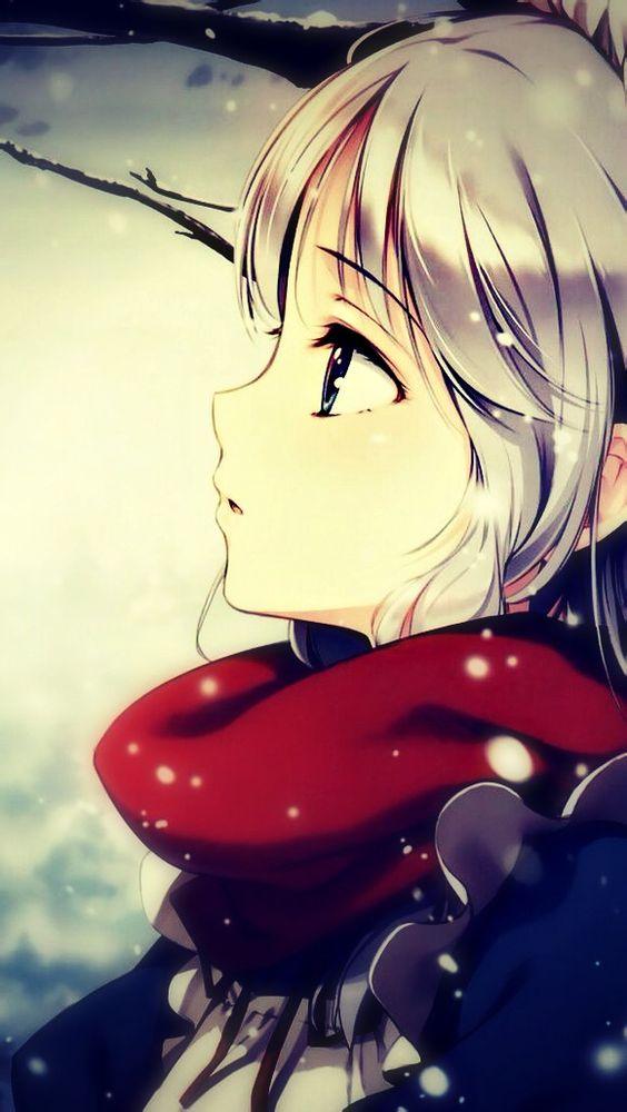 Ảnh 13: Cô gái cùng những bông tuyết rơi nhẹ nhàng luôn đánh mạnh vào trái tim phái mạnh
