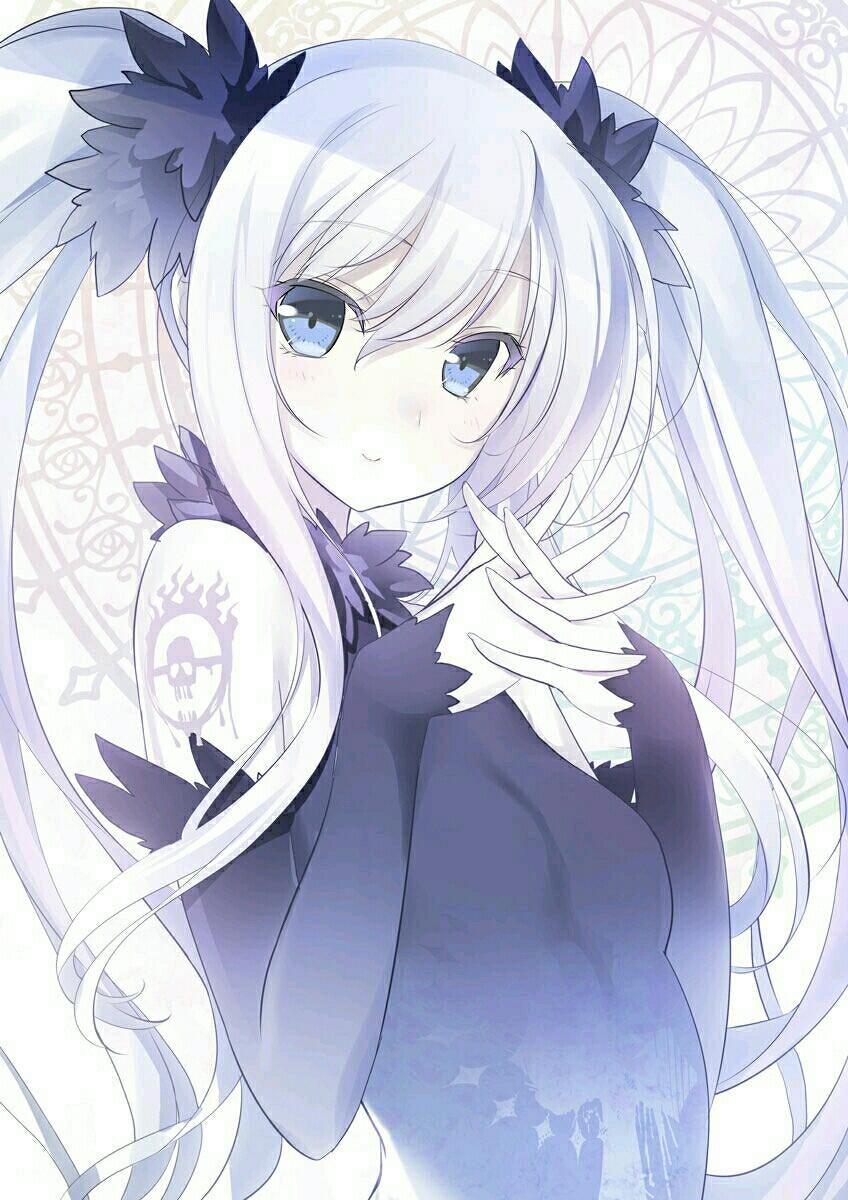 Nhân vật nữ Anime tóc trắng
