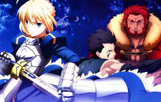 Saber, Rider và Lancer.